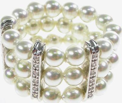 Orquidea Perlenring 'Tiffany' in silber / perlweiß, Produktansicht