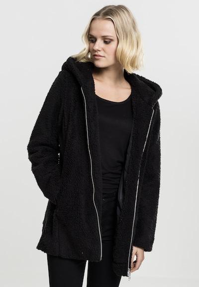 Urban Classics Between-seasons coat in Black, View model