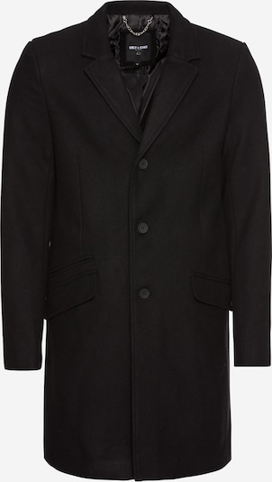Only & Sons Tussenjas 'JULIAN SOLID WOOL COAT' in de kleur Zwart, Productweergave