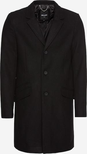 Only & Sons Prijelazni kaput 'JULIAN SOLID WOOL COAT' u crna, Pregled proizvoda