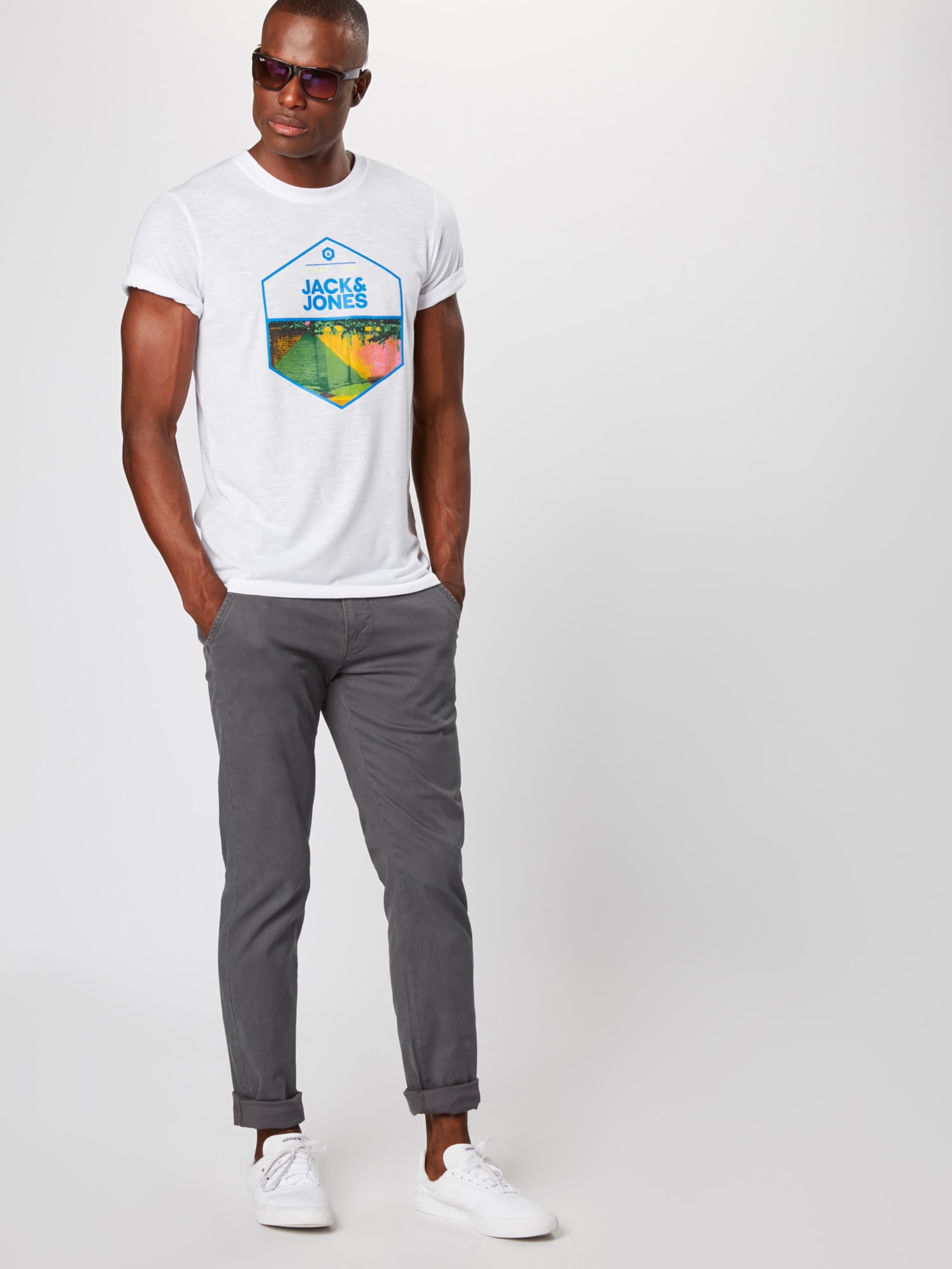 Jackamp; 'simon' Blanc Jones shirt En T PkTiOZXu