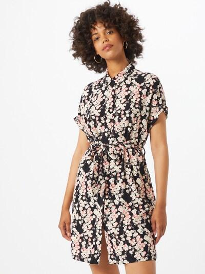 VERO MODA Kleid 'Simply Easy' in pink / schwarz / weiß, Modelansicht