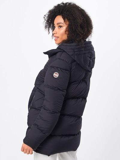 Palton de iarnă Colmar pe negru: Privire spate