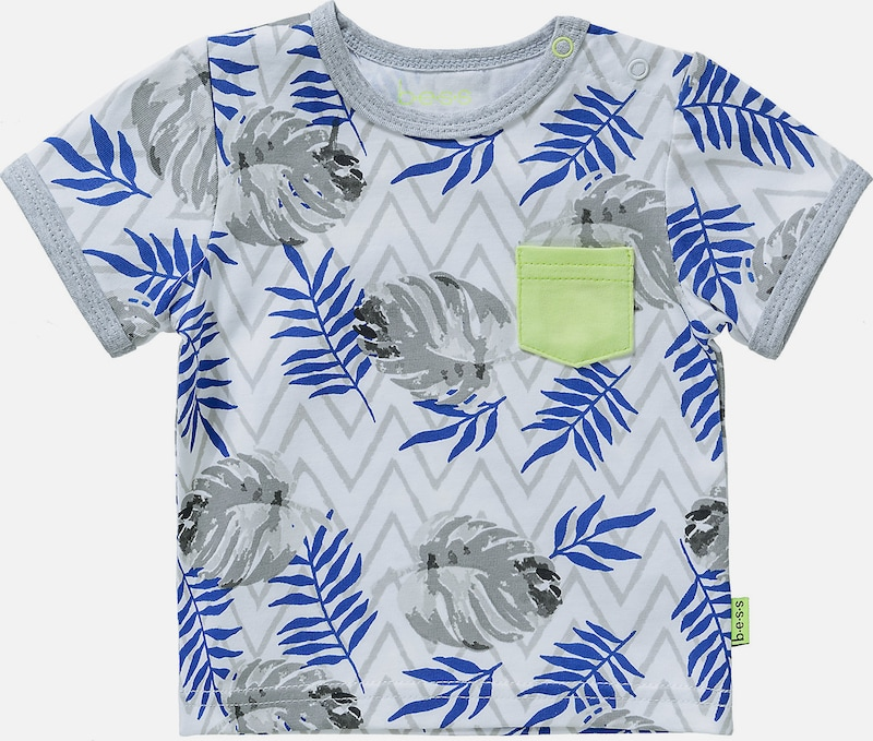 BESS T-Shirt Hawaii in grau, Produktansicht