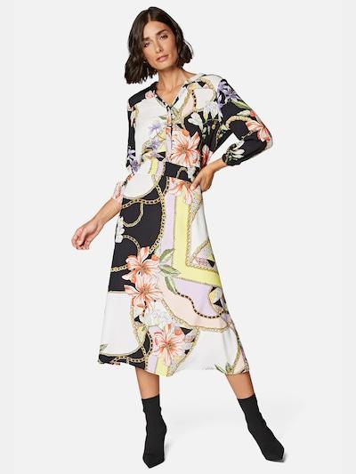Mavi Kleider Lang ' V NECK DRESS ' in mischfarben, Modelansicht