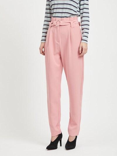 VILA Hose in rosa, Modelansicht