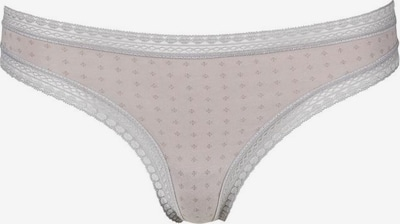 LASCANA LASCANA String (3 Stück) in altrosa / weiß, Produktansicht