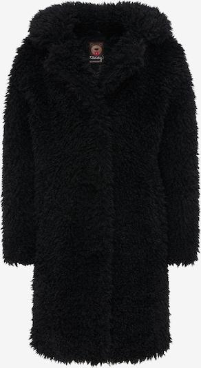 taddy Mantel in schwarz, Produktansicht