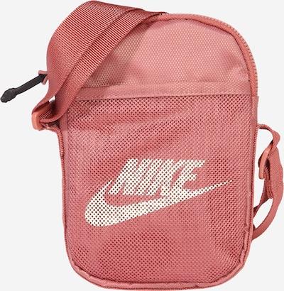 Nike Sportswear Umhängetasche 'Heritage' in rosé / weiß, Produktansicht