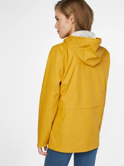 ONLY Regenmantel 'NOOS' in gelb: Rückansicht