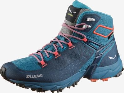 SALEWA Wanderschuhe 'WS Alpenrose Ultra Mid GTX' in marine / himmelblau / koralle, Produktansicht