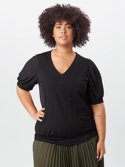 Junarose Bluse 'Jahlina' in schwarz, Modelansicht