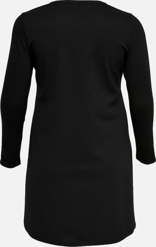 ONLY Carmakoma Kleid mit langen Ärmeln