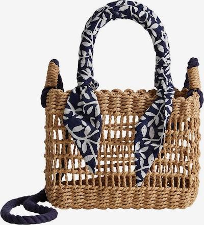 MANGO KIDS Tasche 'Chie' in blau / braun / weiß, Produktansicht