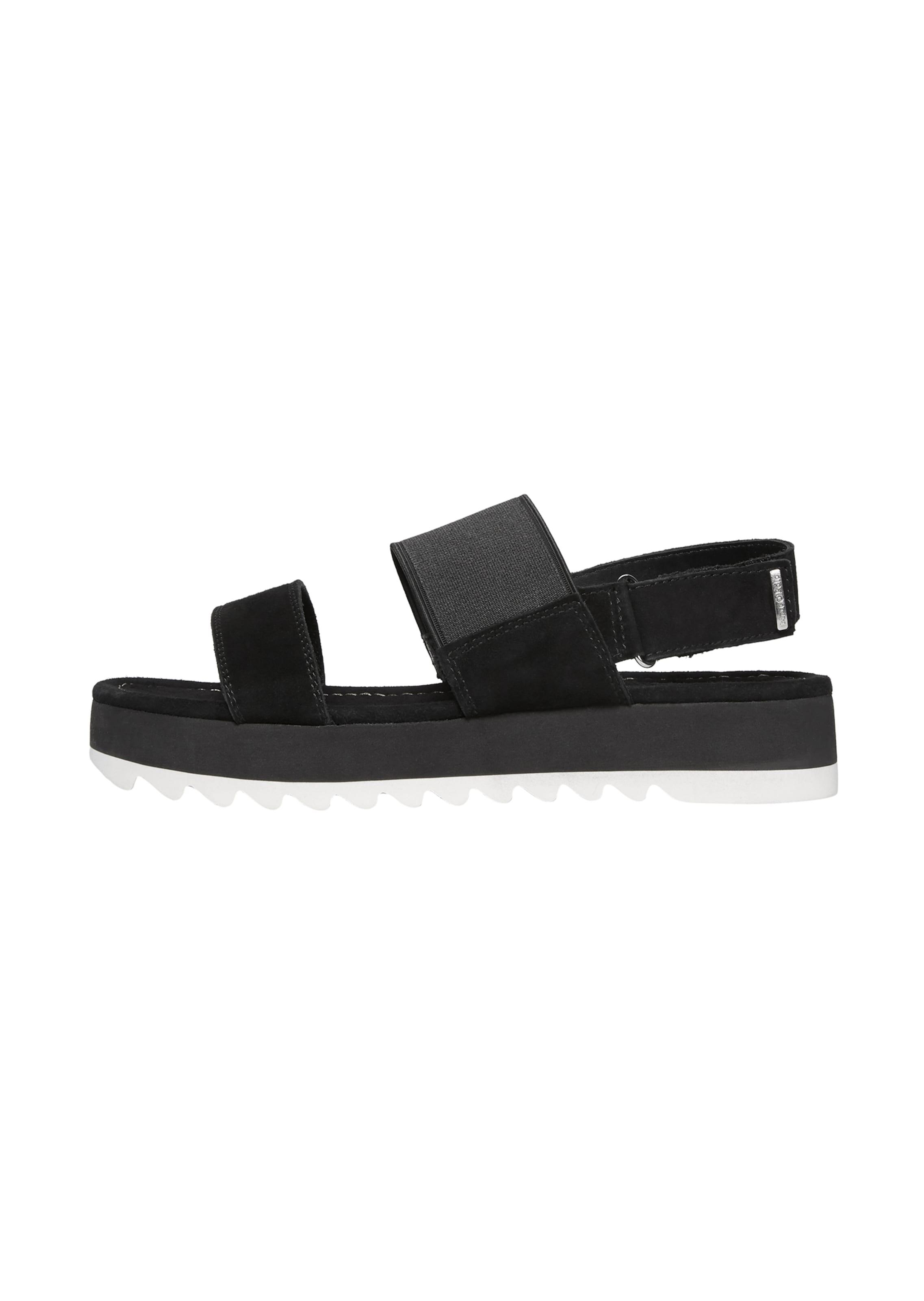 Marc O'Polo Sandale in schwarz