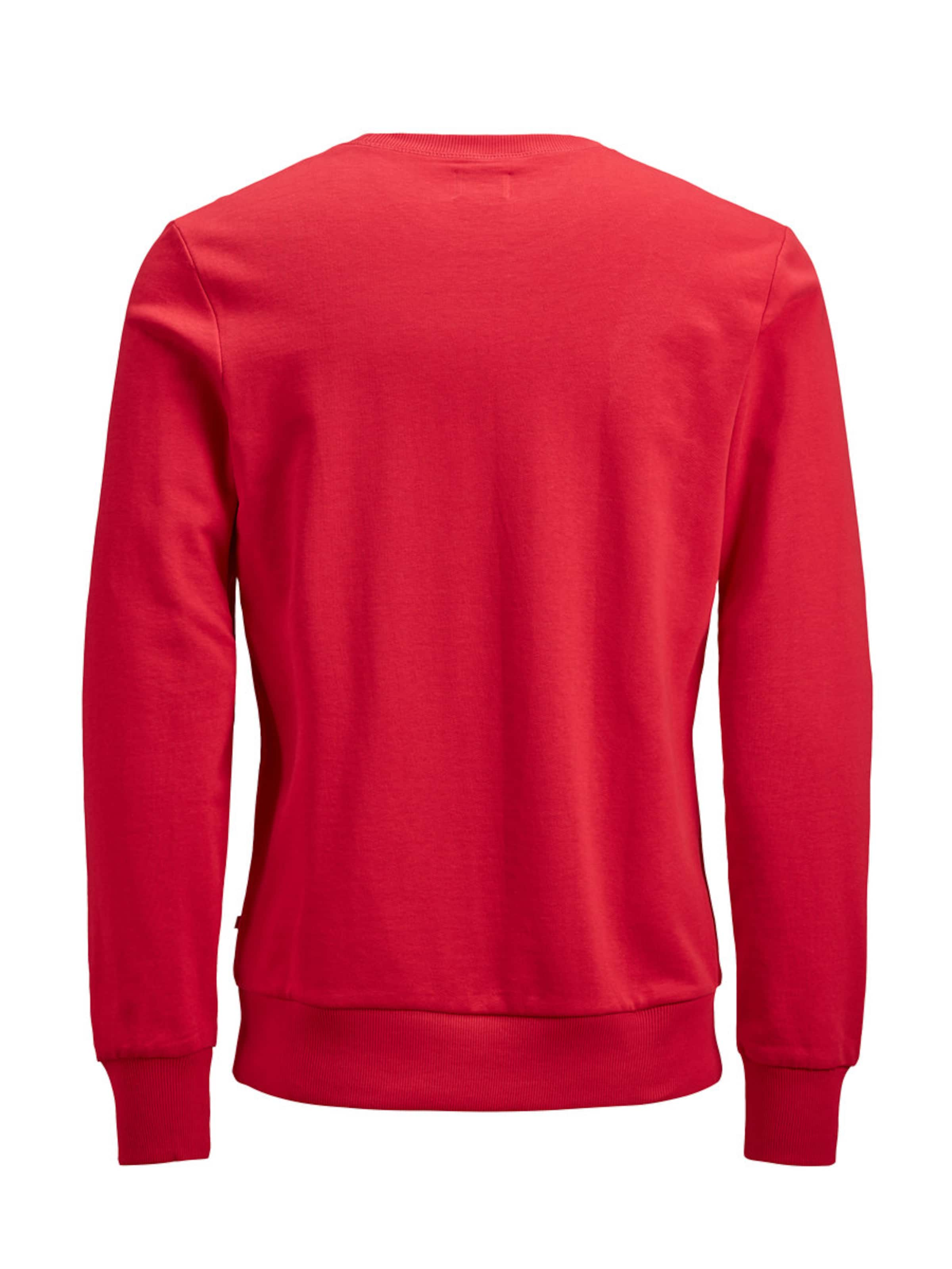 'jjeholmen' Rot Sweatshirt In Jackamp; Jones OkiXZTPlwu