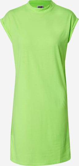 Urban Classics Curvy Šaty - svítivě žlutá, Produkt