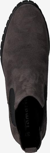 Ghete chelsea TAMARIS pe gri-maro / negru: Privire de sus