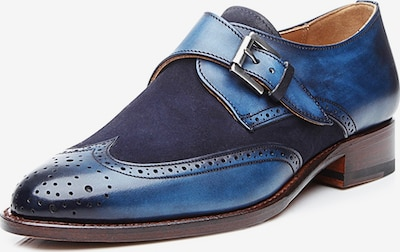 SHOEPASSION Veterschoen 'No. 1155' in de kleur Navy, Productweergave