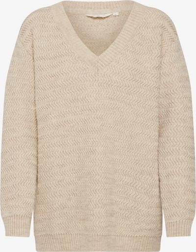 basic apparel Pullover 'Eliza' in beige, Produktansicht