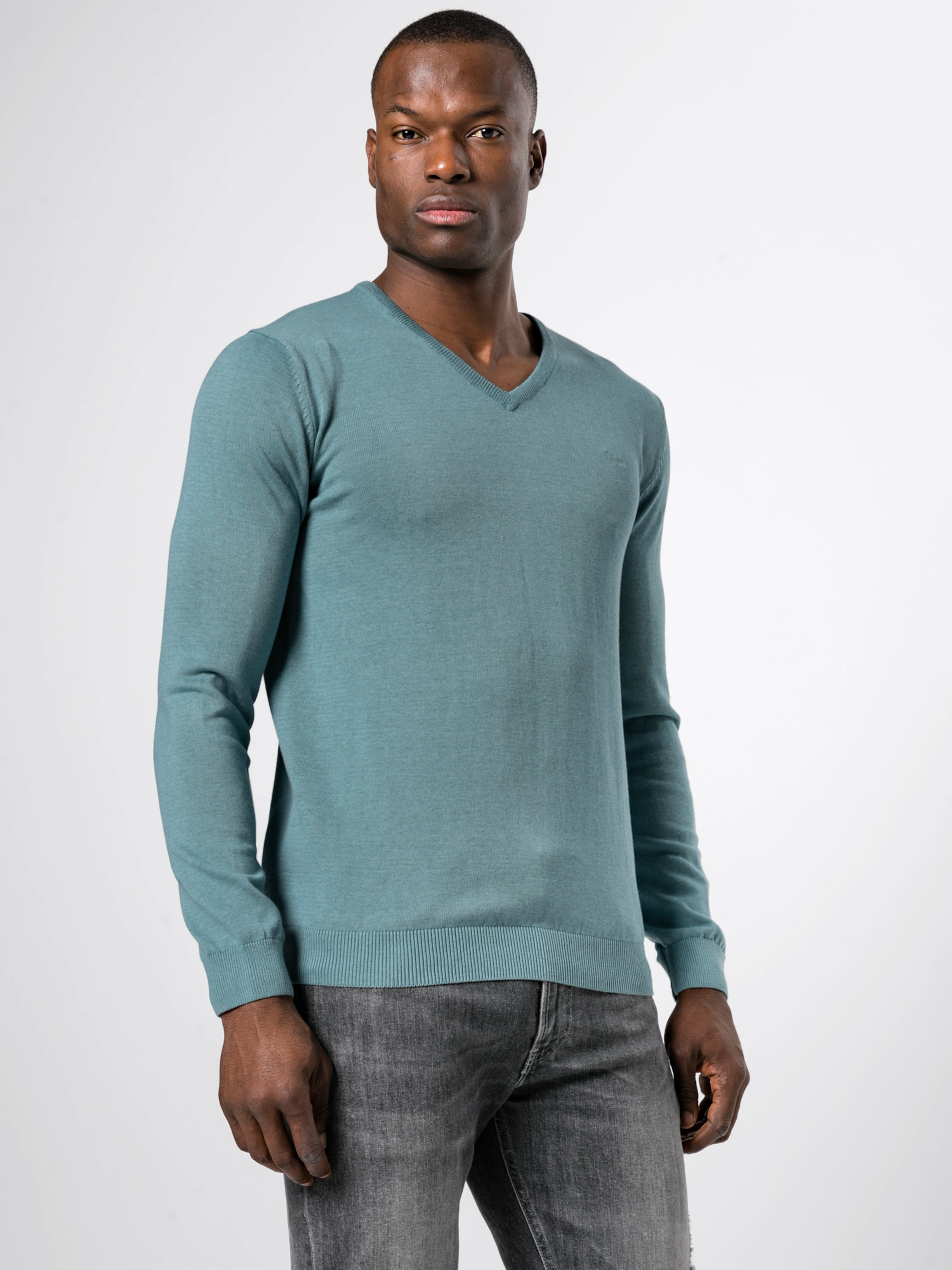 S oliver Label Pullover In Red Mint PZkXuiTO