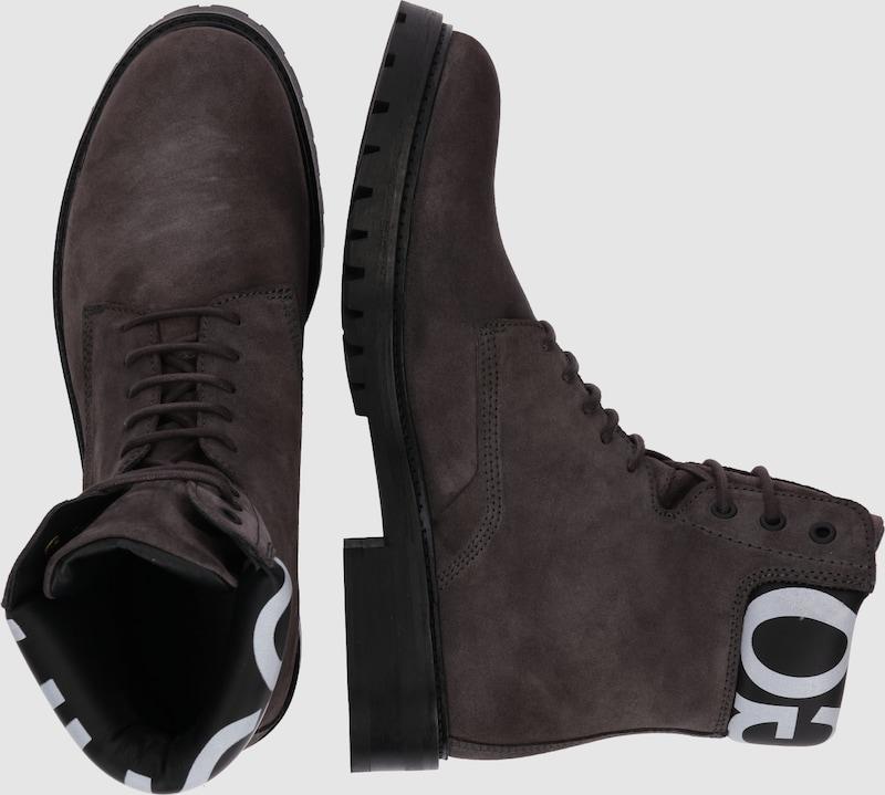 Haltbare Mode Schnürstiefelette billige Schuhe HUGO | Schnürstiefelette Mode 'Explorer' Schuhe Gut getragene Schuhe 8b23b9