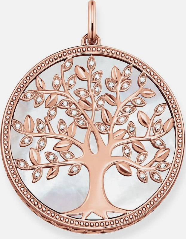 Thomas Sabo Kettenanhänger 'Weisser Tree of Love, PE761-435-14'