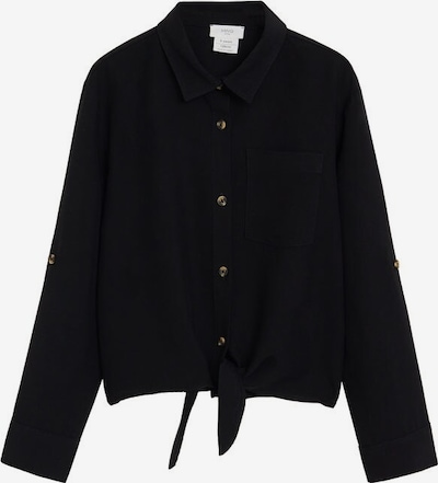 MANGO KIDS Hemd 'Lazo' in schwarz, Produktansicht
