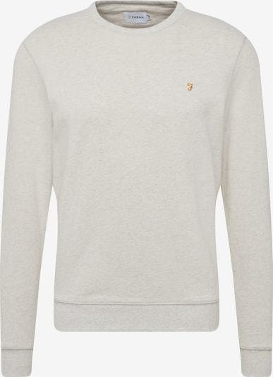 FARAH Sweatshirt 'TIM CREW' in hellgrau / dunkelorange, Produktansicht