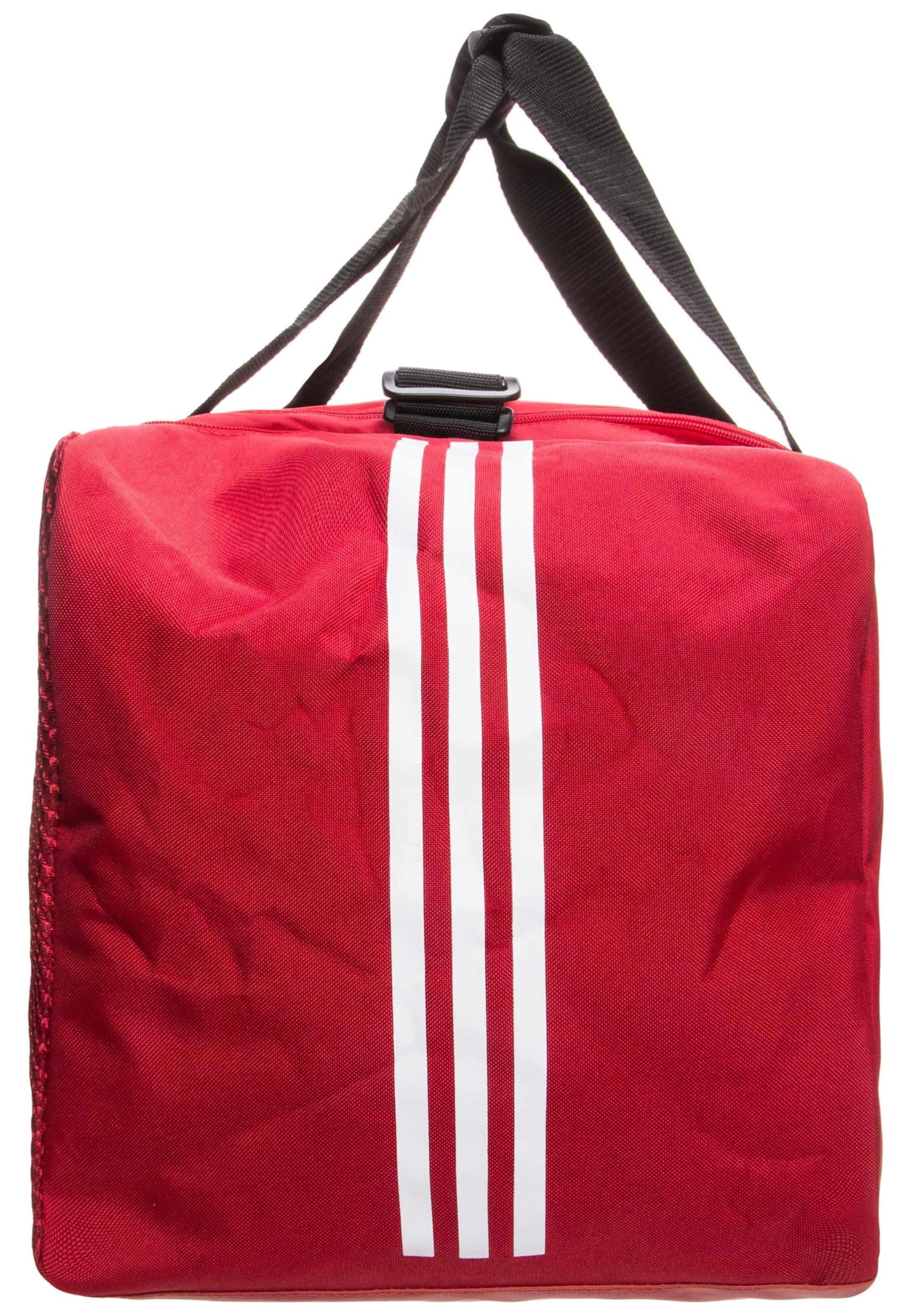 'tiro Duffel Performance Fußballtasche Medium' Weiß In Adidas RotSchwarz QrxtdshC