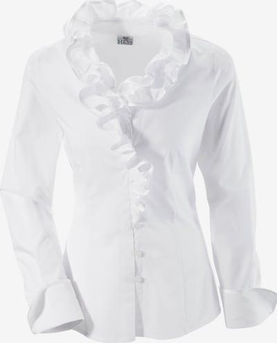 BERWIN & WOLFF Trachtenbluse in weiß, Produktansicht