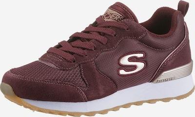 Sneaker low 'Goldn gurl' SKECHERS pe bej / roşu închis, Vizualizare produs