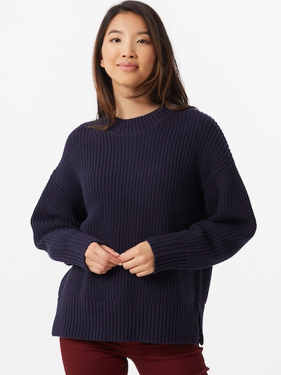 Pulover SELECTED FEMME pe navy: Privire frontală