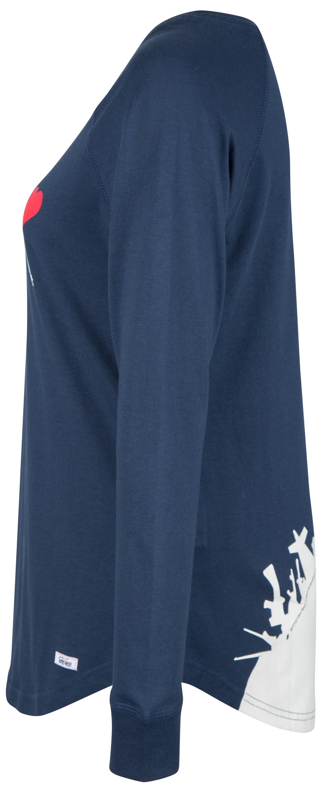 BleuMarine Foncé shirt Homebase By T 'brandalised Homebase' En Ybfg76yv
