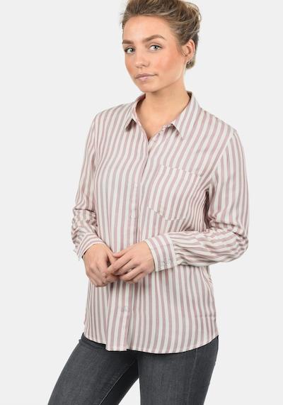 JACQUELINE de YONG Hemdbluse 'Mia' in rosé / weiß, Modelansicht