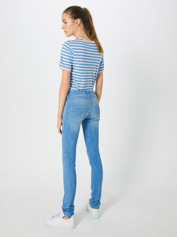 In Jeans Ltb Denim 'molly' Blauw f7y6Ybg