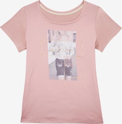 Krüger Collection Trachtenshirt in grau / rosa / weiß, Produktansicht