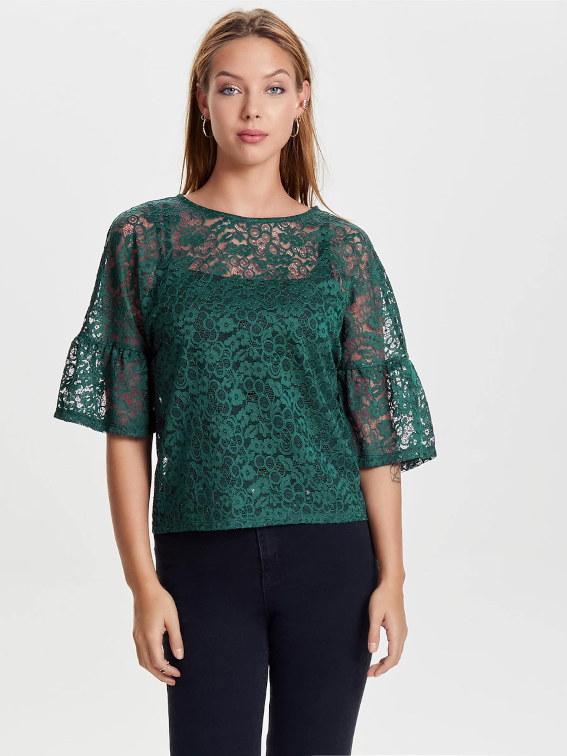 ONLY Spitzen Bluse mit 2/4 Ärmeln Kaufen Billig Zu Kaufen Günstig Kaufen Ausgezeichnet Schnelle Lieferung F3Sh1Fu