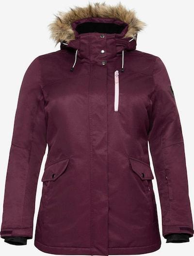 SHEEGO Skijacke in lila, Produktansicht