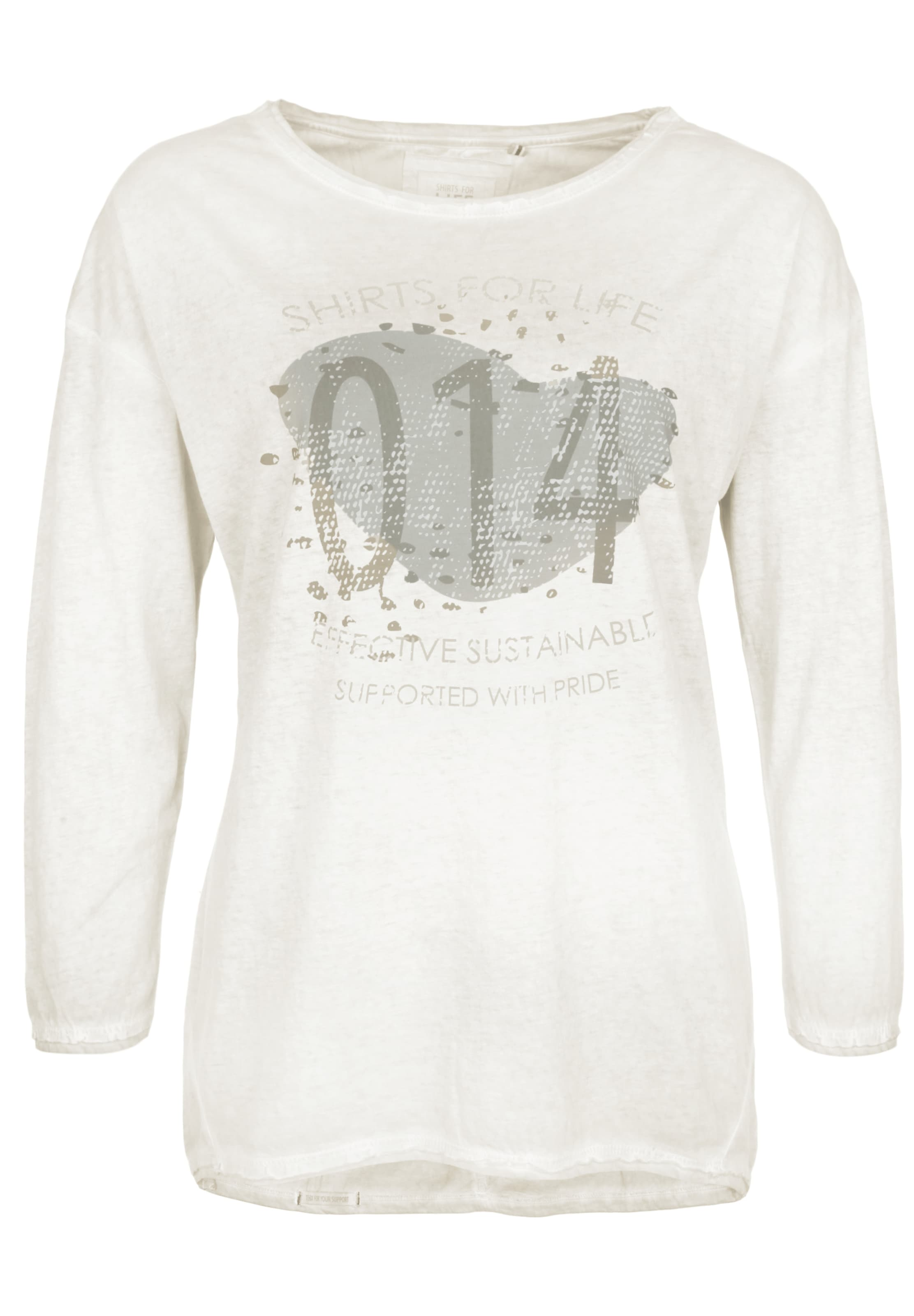 In For Longsleeve 'lilline' Offwhite Life Shirts 4RjLA35