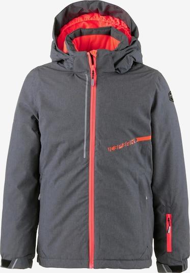 ICEPEAK Skijacke in grau / lachs, Produktansicht