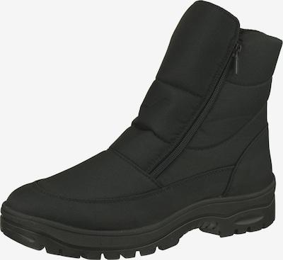 Natural Feet Stiefel 'Milton' in schwarz: Frontalansicht