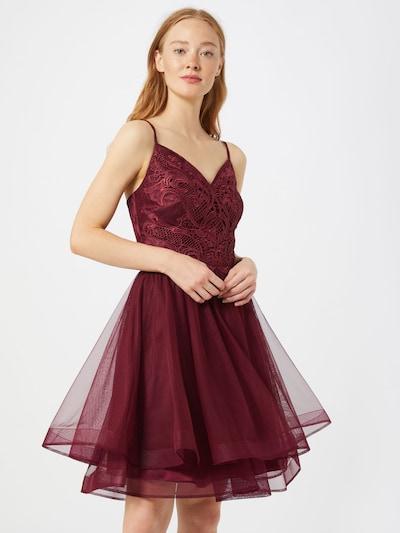 VM Vera Mont Kleid in weinrot, Modelansicht