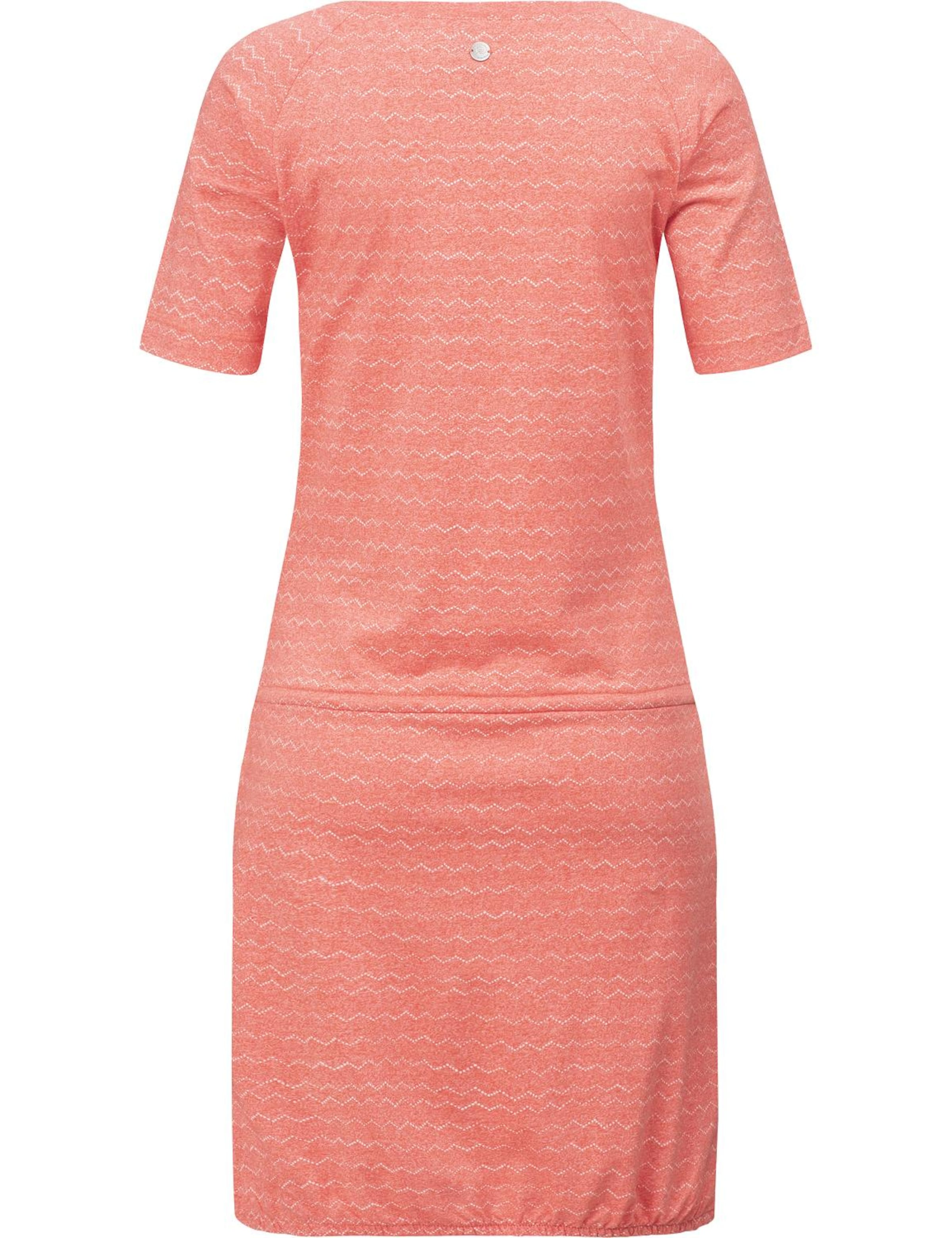 LachsWeiß Ragwear 'veseta Organic' Kleid In zVSpMGqU