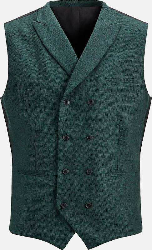 JACK & JONES Stoffmix Weste in grün  Großer Rabatt Rabatt Rabatt 871313