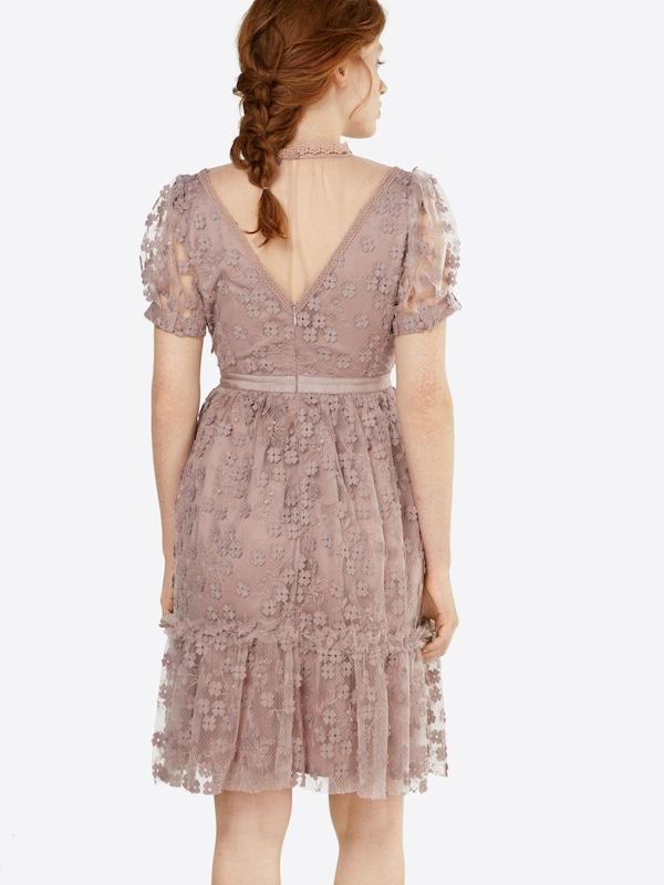 FRENCH CONNECTION Kleid mit Spitzenbesatz