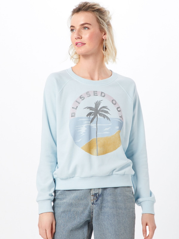 shirt Clair En Sweat 'laguna Beach' Bleu Billabong yvwOmNn08