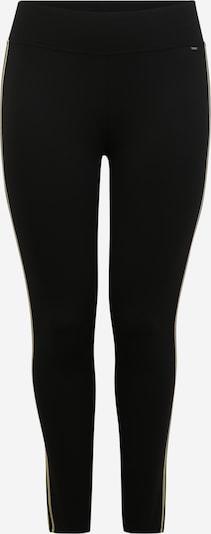 bézs / fekete TRIANGLE Leggings, Termék nézet