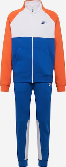 Nike Sportswear Jogginganzug 'M NSW CE TRK SUIT FLC' in blau / rot / weiß, Produktansicht