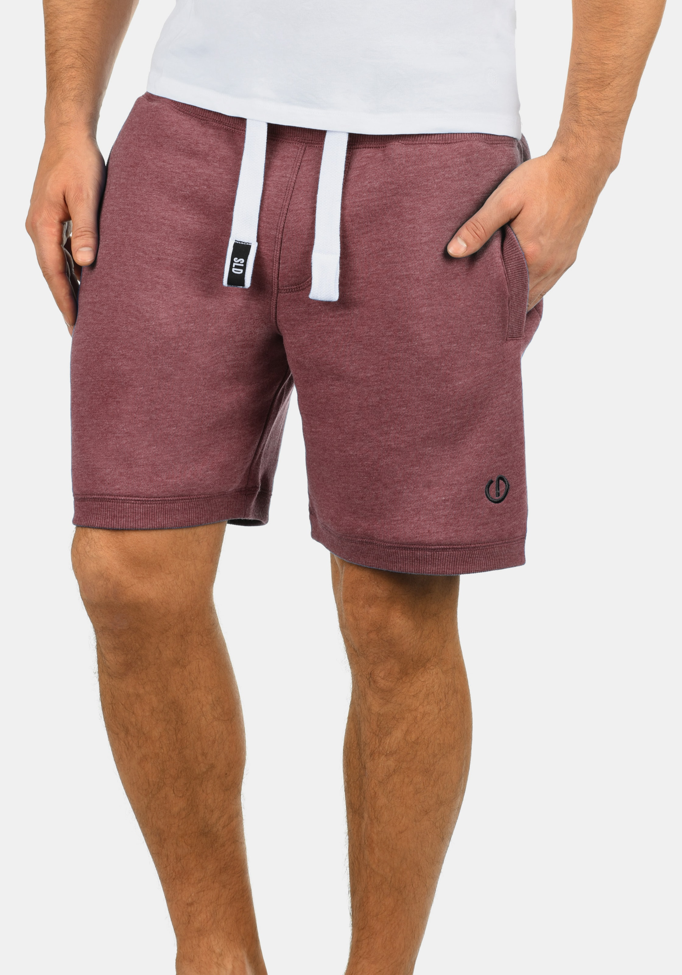 solid Rot solid In Sweatshorts In Rot solid solid Rot In Sweatshorts Sweatshorts 4LR35jA